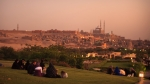 Sunset, al-Azhar Park